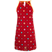 Strappy Dress - Red Explosion