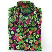 Regular Fit Short Sleeve Shirt - Vibrant Floral