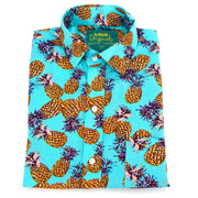 Regular Fit Long Sleeve Shirt - Pineapples