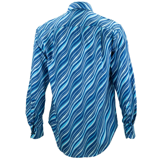 Regular Fit Long Sleeve Shirt - Ripples
