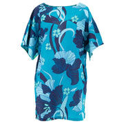 Modern Kimono Pocket Dress - Blue Dream
