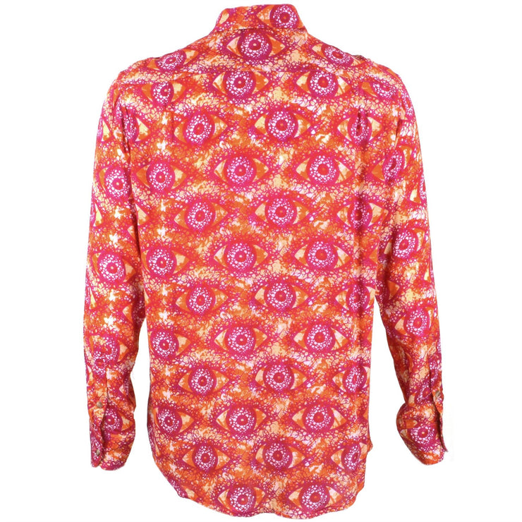 Regular Fit Long Sleeve Shirt - Red & Pink Eyes