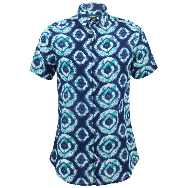 Tailored Fit Short Sleeve Shirt - Eye of the Sea