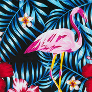 Regular Fit Short Sleeve Shirt - Tropical Flamingo