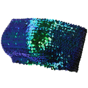Sequin Boob Tube Top - Green