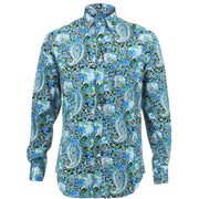 Regular Fit Long Sleeve Shirt - Floral Paisley