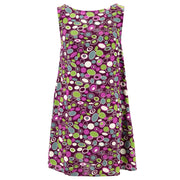 Shift Shaper Dress - 60s Circles Purple