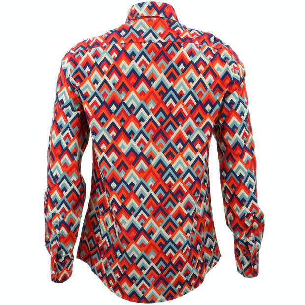 Tailored Fit Long Sleeve Shirt - Mountain