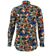 Tailored Fit Long Sleeve Shirt - Rave Camouflage