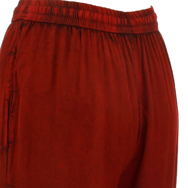 Harem Trousers - Red
