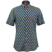 Tailored Fit Short Sleeve Shirt - Parachute Pyramids