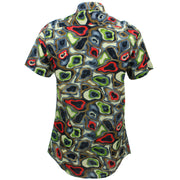 Tailored Fit Short Sleeve Shirt - Rave Camouflage