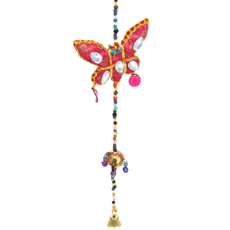 Handmade Rajasthani Strings Hanging Decorations - Butterflies