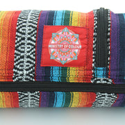 Cotton Canvas Yoga Mat Bag - Rainbow