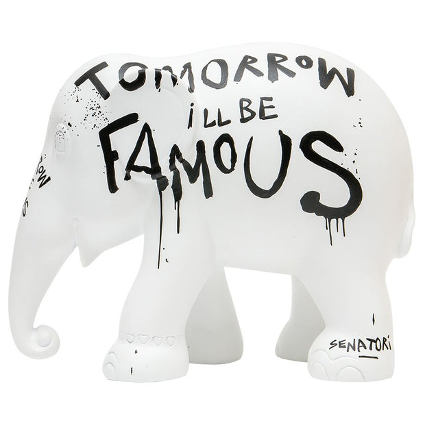 Limited Edition Replica Elephant - Tomorrow I'll Be Famous (10cm)