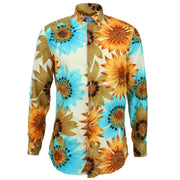 Tailored Fit Long Sleeve Shirt - Big Autumn Floral