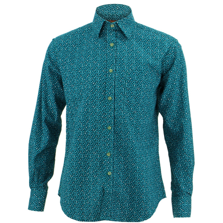 Regular Fit Long Sleeve Shirt - Ditzy Stars