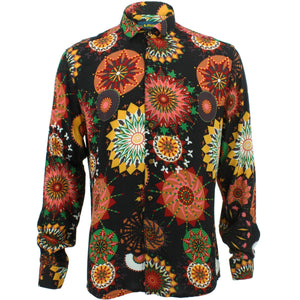 Slim Fit Long Sleeve Shirt - Carnival Suzani