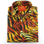 Slim Fit Long Sleeve Shirt - Tiger