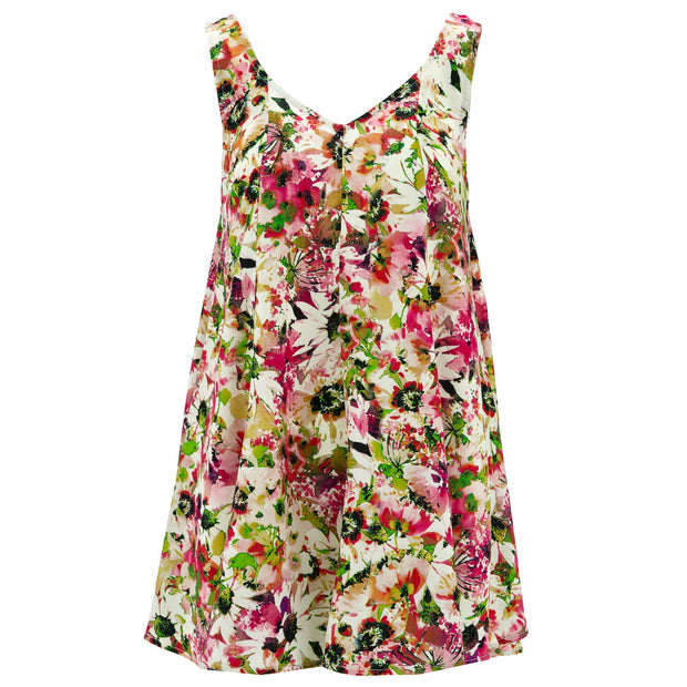 Floaty Dolly Dress - Floral Watercolour