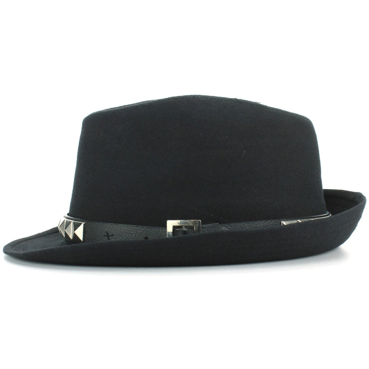 Hawkins Studded Belt Trilby Hat