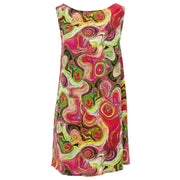 Shift Shaper Dress - Paint Swirls