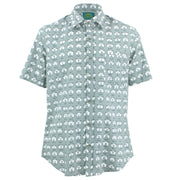 Tailored Fit Short Sleeve Shirt - Collars