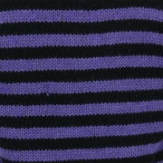 Chunky Wool Knit Jumper - Purple Black