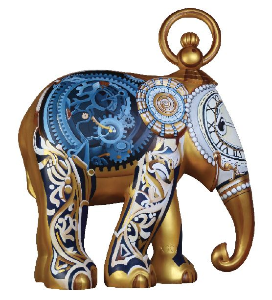 Limited Edition Replica Elephant - Watch!