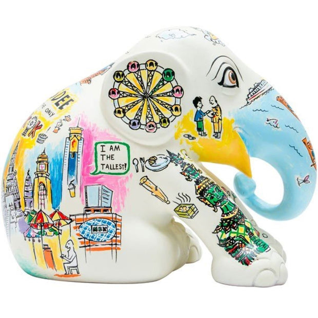 Limited Edition Replica Elephant - Little Jaidee (10cm)
