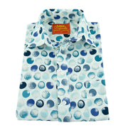 Regular Fit Short Sleeve Shirt - Marbles
