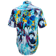 Regular Fit Short Sleeve Shirt - Psychedelic Rose
