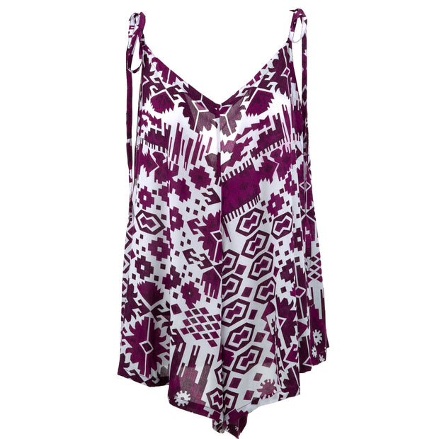 Short Jumpsuit - Aztec Purple