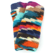 Wool Knit Arm Warmer - Multi