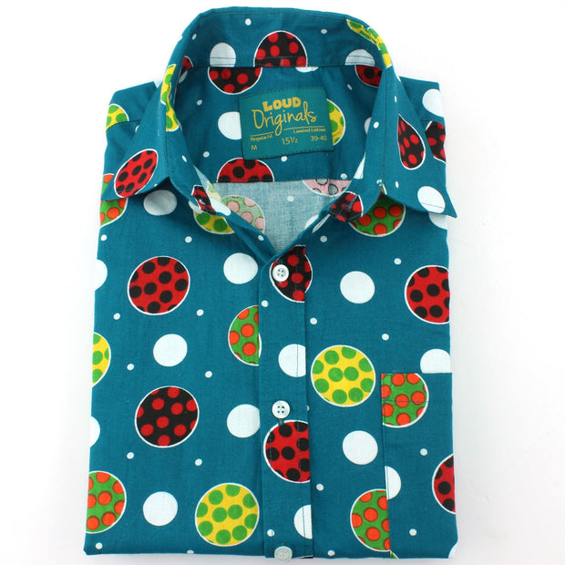Regular Fit Short Sleeve Shirt - Polka Balls