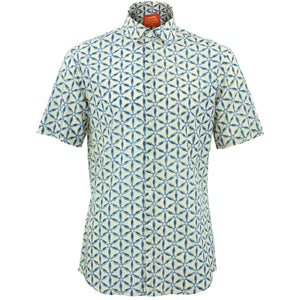 Tailored Fit Short Sleeve Shirt - Geodesic
