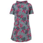 Sixties Shift Dress - Floret Cluster