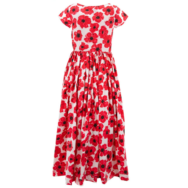 Tea Dress - Vermillion Summer