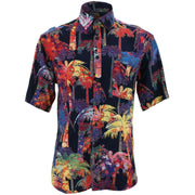 Regular Fit Short Sleeve Shirt - Beach Rave