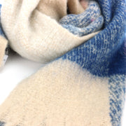Soft Fashion Ladies Scarf - Blue Cream