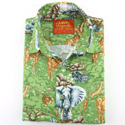 Regular Fit Short Sleeve Shirt - Africa's Big 5