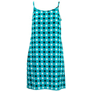 Strappy Dress - Turquise Polka Dots