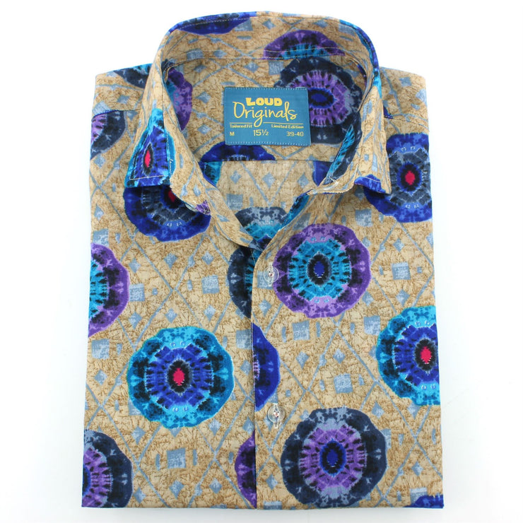 Tailored Fit Short Sleeve Shirt - The Eye of the Kaleidoscope