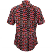 Slim Fit Short Sleeve Shirt - Poppy Dots