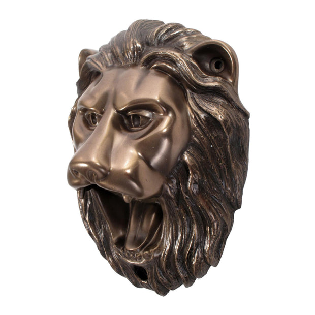Wall Mounted Character Bottle Opener - Lion (Bronze)