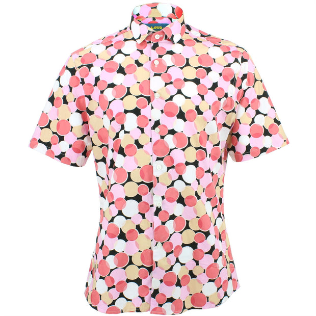 Slim Fit Short Sleeve Shirt - Venn Circles