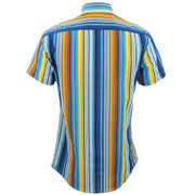 Tailored Fit Short Sleeve Shirt - Classic Deck Chair