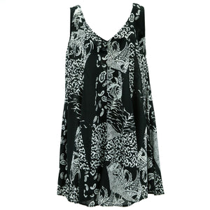 Floaty Dolly Dress - Abstract Paisley
