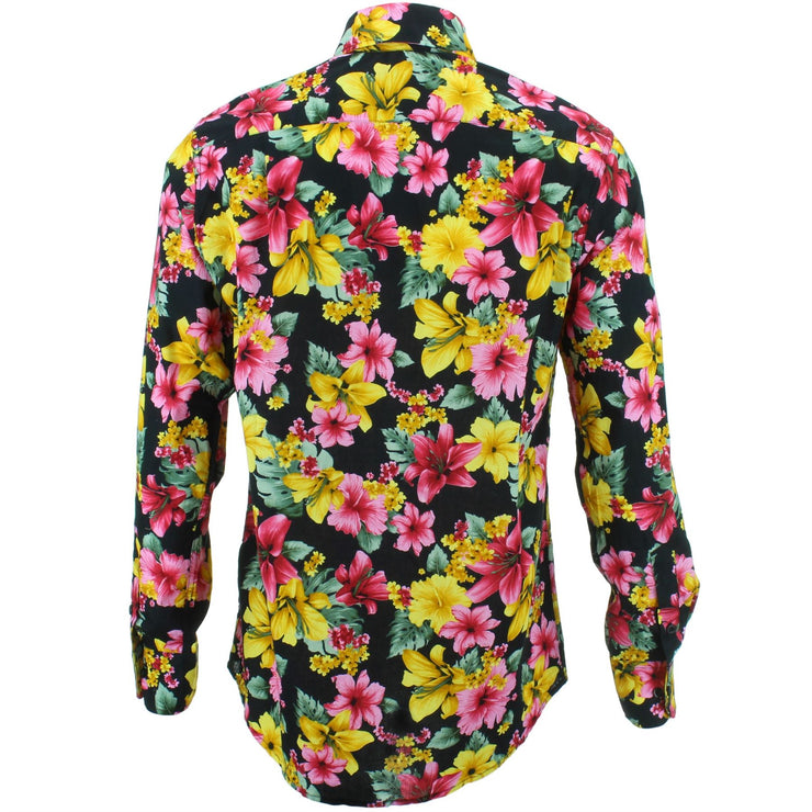 Regular Fit Long Sleeve Shirt - Lilies