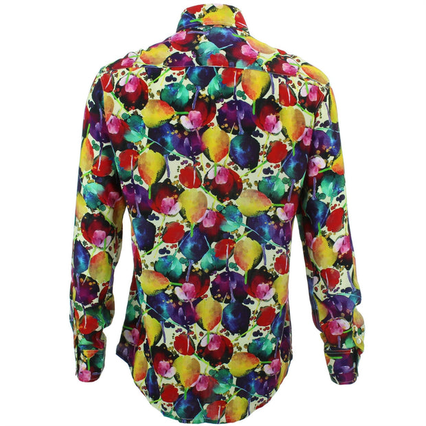 Regular Fit Long Sleeve Shirt - Tulips